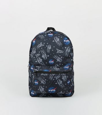 Blue Nasa Patch Backpack