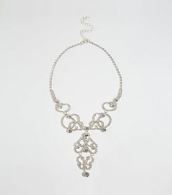 Brand New New Look Diamonte Tassel Chain! Necklaces & Pendants