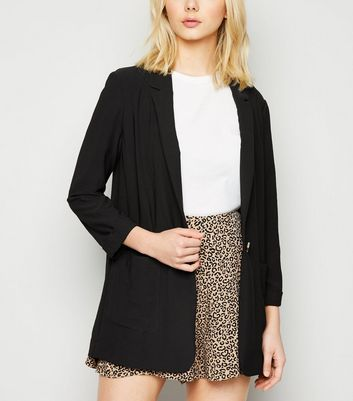 Black Lightweight Blazer