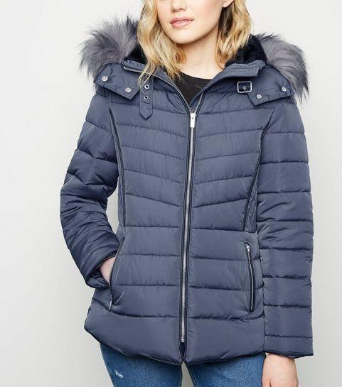 Faux Fur Coats   Faux Fur Jackets   Fur Hood Coats   New Look 04a50d43642b