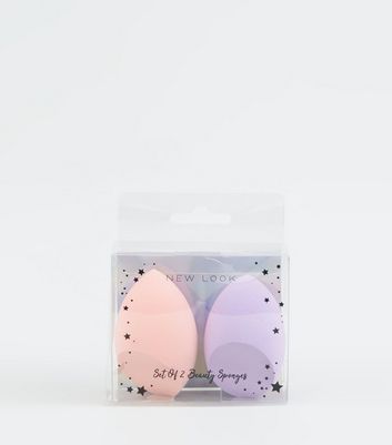 2 Pack Multicoloured Beauty Blending Sponges
