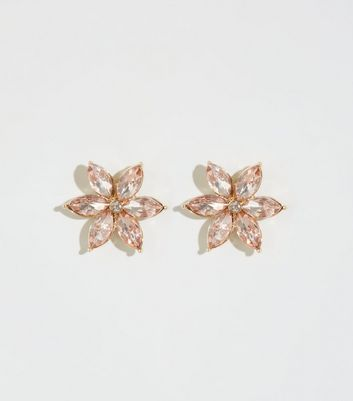 Multicoloured Flower Stud Earrings