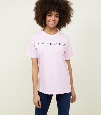 Pink Friends Logo T-Shirt