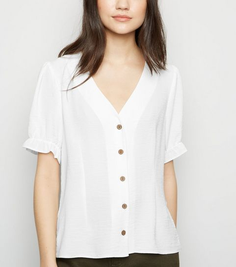 c25ebb7451eaf Chemises et chemisiers   Chemises blanches   New Look