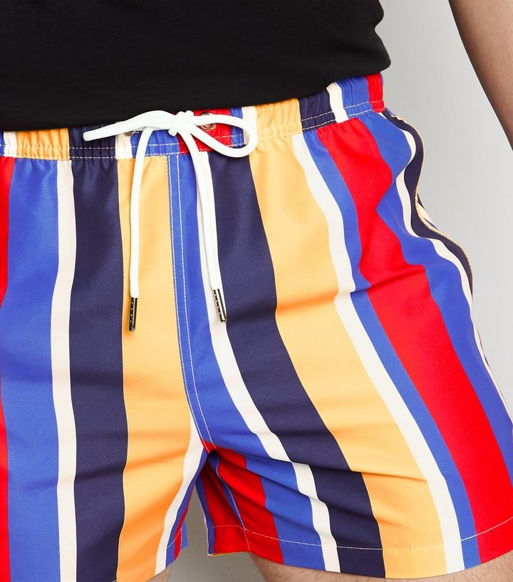 aa975de4b998f ... Blue Stripe Swim Shorts. ×. ×. ×. Shop the look