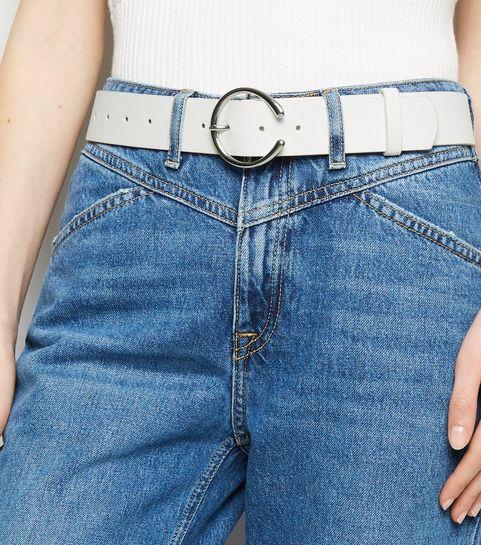 5a867276eb7702 White Horseshoe Buckle Belt · White Horseshoe Buckle Belt ...
