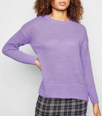Lilac Knitted Jumper