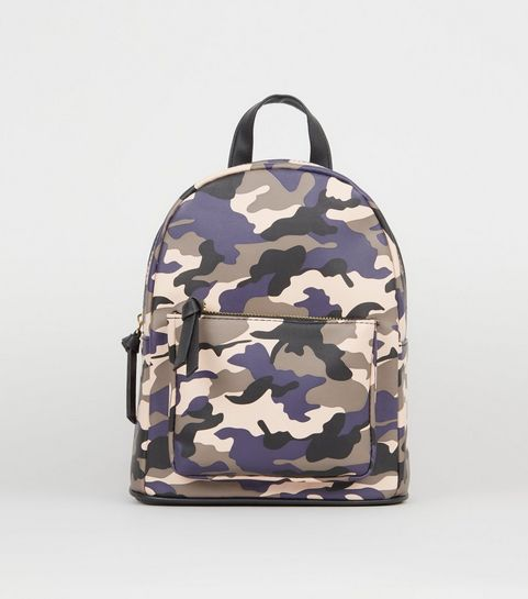 b3c913bb195 Pink Camo Print Backpack · Pink Camo Print Backpack ...