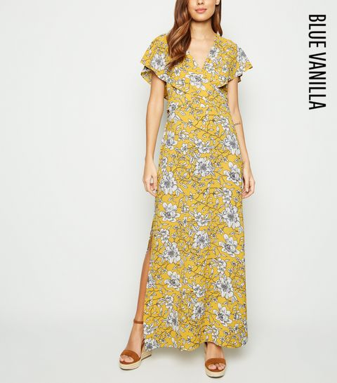 aa5177e0a79f Remove from Saved Items. €34.99 Quick view. Blue Vanilla Yellow Floral Wrap  Front Dress · Blue Vanilla Yellow Floral Wrap Front Dress ...
