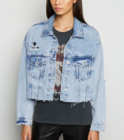 040b3064520d Denim Jackets   Women's Oversized & Black Denim Jackets   New Look