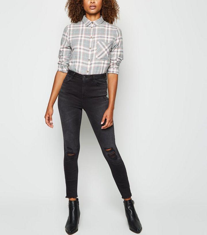 df5c5c9a9 Tall Black 'Lift & Shape' Skinny Jeans | New Look