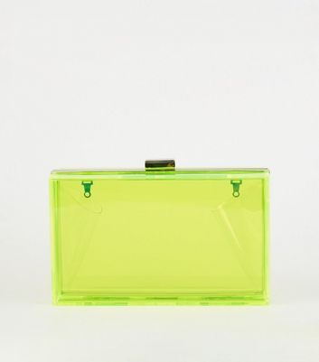 Green Neon Box Bag
