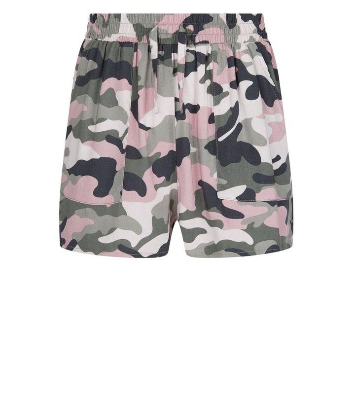 b7f9d5e49 ... Girls Pink Camo Runner Shorts. ×. ×. ×. Shop the look