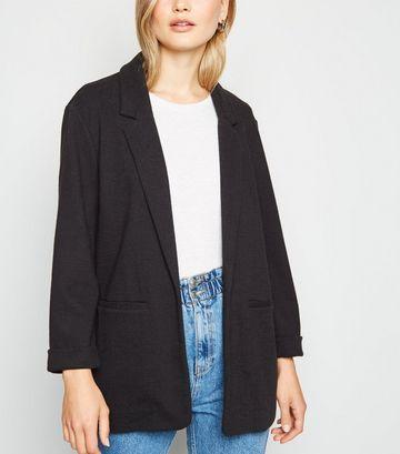 Black Crosshatch Blazer