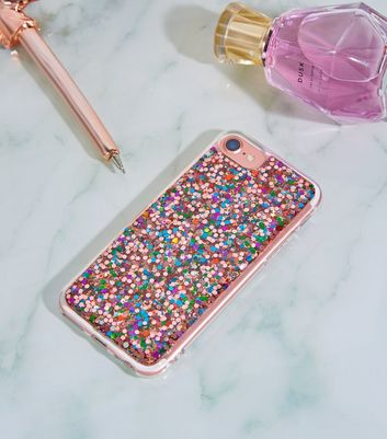 Pink Glitter iPhone 6/6s/7/8 Case