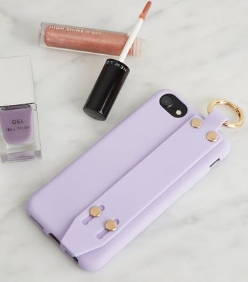 Lilac Ring Handle iPhone 6/6s/7/8 Case