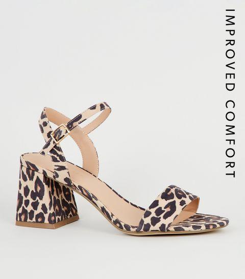 3af4c291be31 Black Suedette Leopard Print Heels · Black Suedette Leopard Print Heels ...