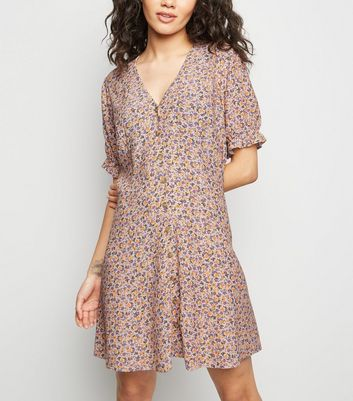Floral Dresses Floral Bodycon Wrap Amp Tea Dresses New Look