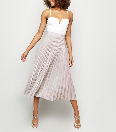3a9ef4b54f Midi Skirts | Pleated Midi and A-Line Midi Skirts | New Look
