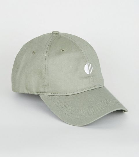 a51fe270cde ... Olive Embroidered Circle 6 Panel Cap ...