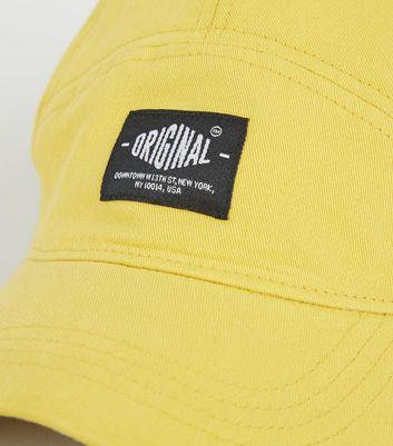 Photo of Mustard original slogan 7 panel cap new look