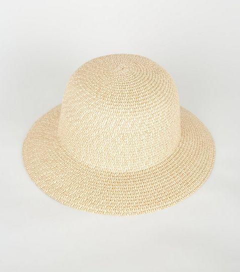 a3fe58d64b4 ... Stone Straw Effect Bucket Hat ...