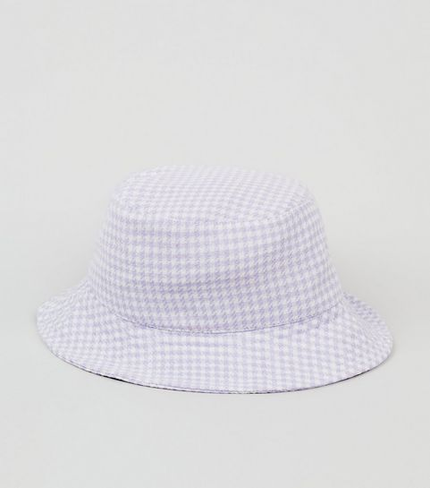 69d01f14 Lilac Gingham Bucket Hat · Lilac Gingham Bucket Hat ...