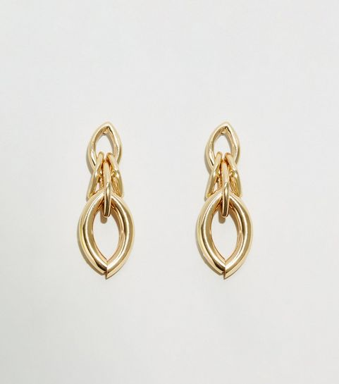 Gold Chunky Chain Linked Earrings · Gold Chunky Chain Linked Earrings ... 2ac30876c0