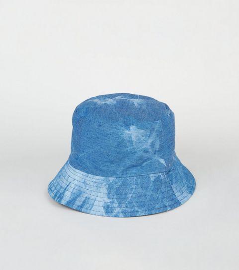 ... Blue Acid Wash Bucket Hat ... 00a0e3586cbd