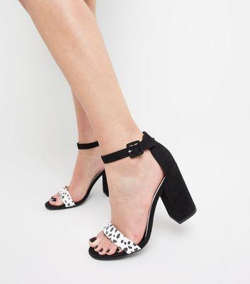 Später Blockabsatz Weiße Gespeicherten Für Speichern Sandaletten Artikeln Entfernen Und Mit Riemchen Von Punktmuster xreCdBo