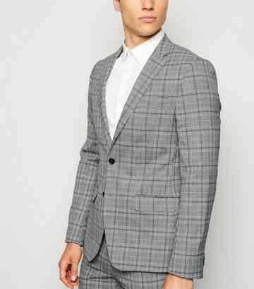 b3c947194aa7 Men's Grey Suits | Grey Blazers & Grey Trousers | New Look