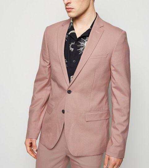 7345a71d Pink Skinny Suit Jacket · Pink Skinny Suit Jacket ...
