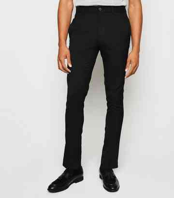 Black Side Stripe Skinny Trousers