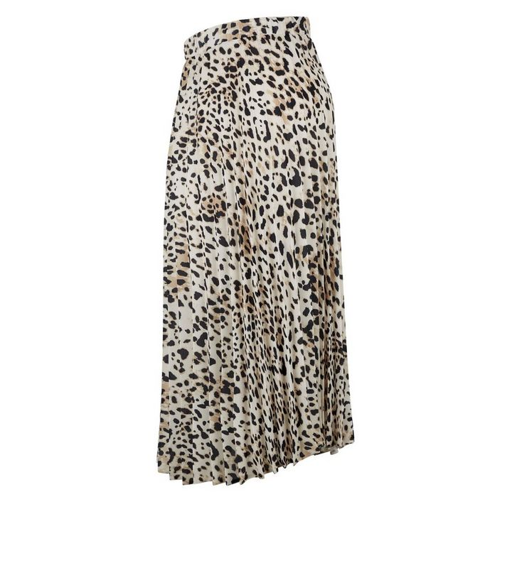 43b6a542a705c ... Maternity Brown Leopard Print Pleated Skirt. ×. ×. ×. Shop the look