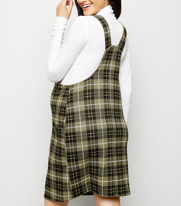 43d5fdeee7a ... Maternity Yellow Check Pinafore Dress. ×. ×. ×. Shop the look