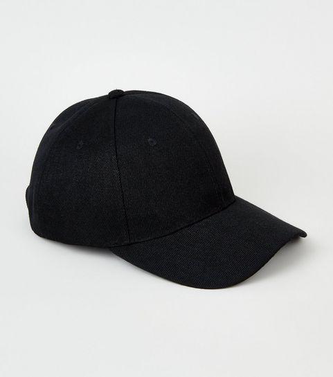 7de3fe6996b Black Jersey Cap · Black Jersey Cap ...