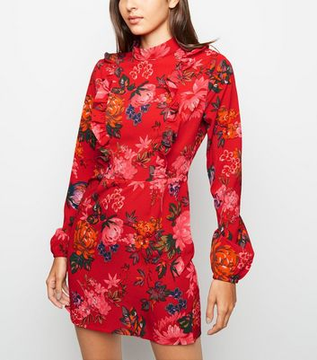 Entfernen Gespeicherten Ax Rotes Blumenmuster Artikeln – Paris Für Später Mit Und Rüschen Speichern Von Kleid c5ARjL34qS