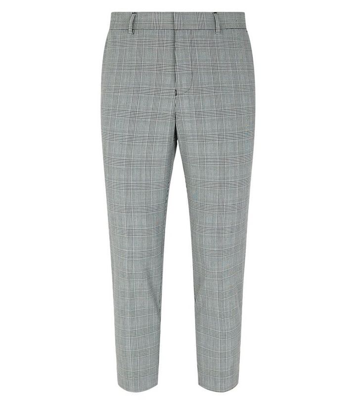 37ecbd426df3 ... Light Grey Check Skinny Crop Trousers. ×. ×. ×. Shop the look