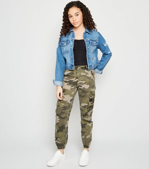 f664e1297c039 Girls' Camo Clothing | Girls' Camo Pants, Jackets & Tops | New Look