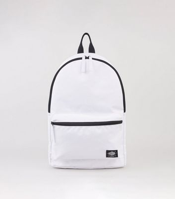 White Ripstop Backpack