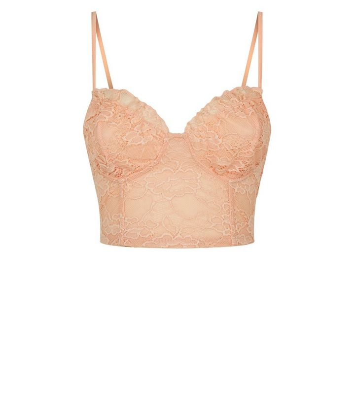 387380cb941123 ... Pale Pink Lace Milkmaid Bralette. ×. ×. ×. Shop the look