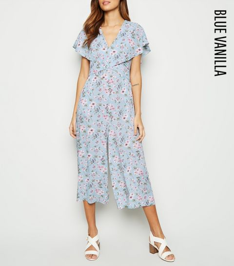 342697ec761d Remove from Saved Items. £22.99 Quick view. Black Pink. Blue Vanilla Pale  Blue Tie Back Culotte Jumpsuit · Blue Vanilla Pale Blue Tie Back Culotte  Jumpsuit ...