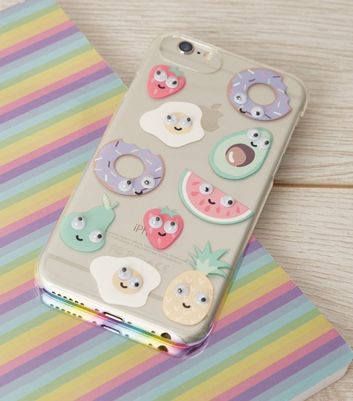 Multicoloured Food Eyes iPhone 6/6s/7/8 Case