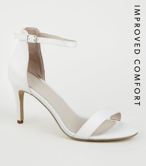 1c9c89732da White Satin Stiletto Heels · White Satin Stiletto Heels ...