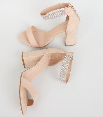 Strap Block Heel Sandals