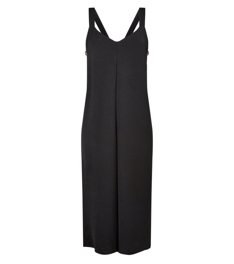 New Look - button side cropped jumpsuit - 3