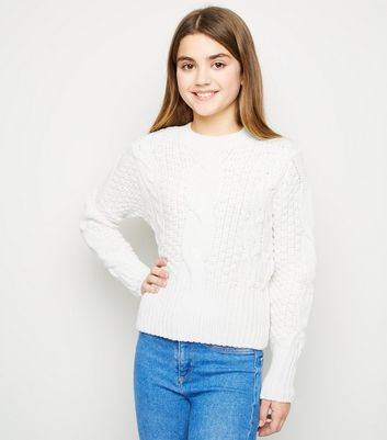 Girls Jumpers Sweaters For Girls New Look