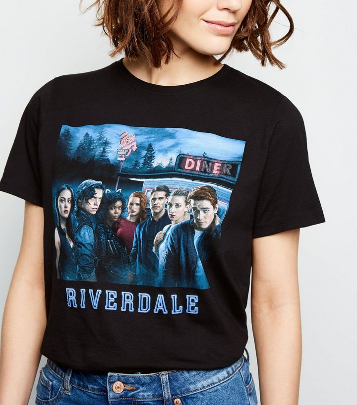 c06ee23c21116 Black Riverdale Photo Print T-Shirt Add to Saved Items Remove from Saved  Items