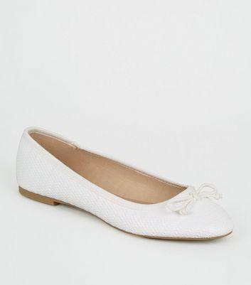 White Textured Finish White Ballet