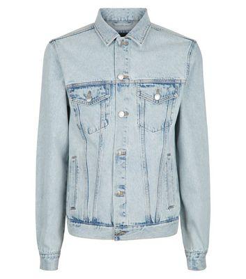 New Look Mens Bleach Denim Jacket